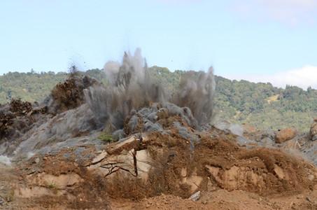 Rock Blasting Wake Forest