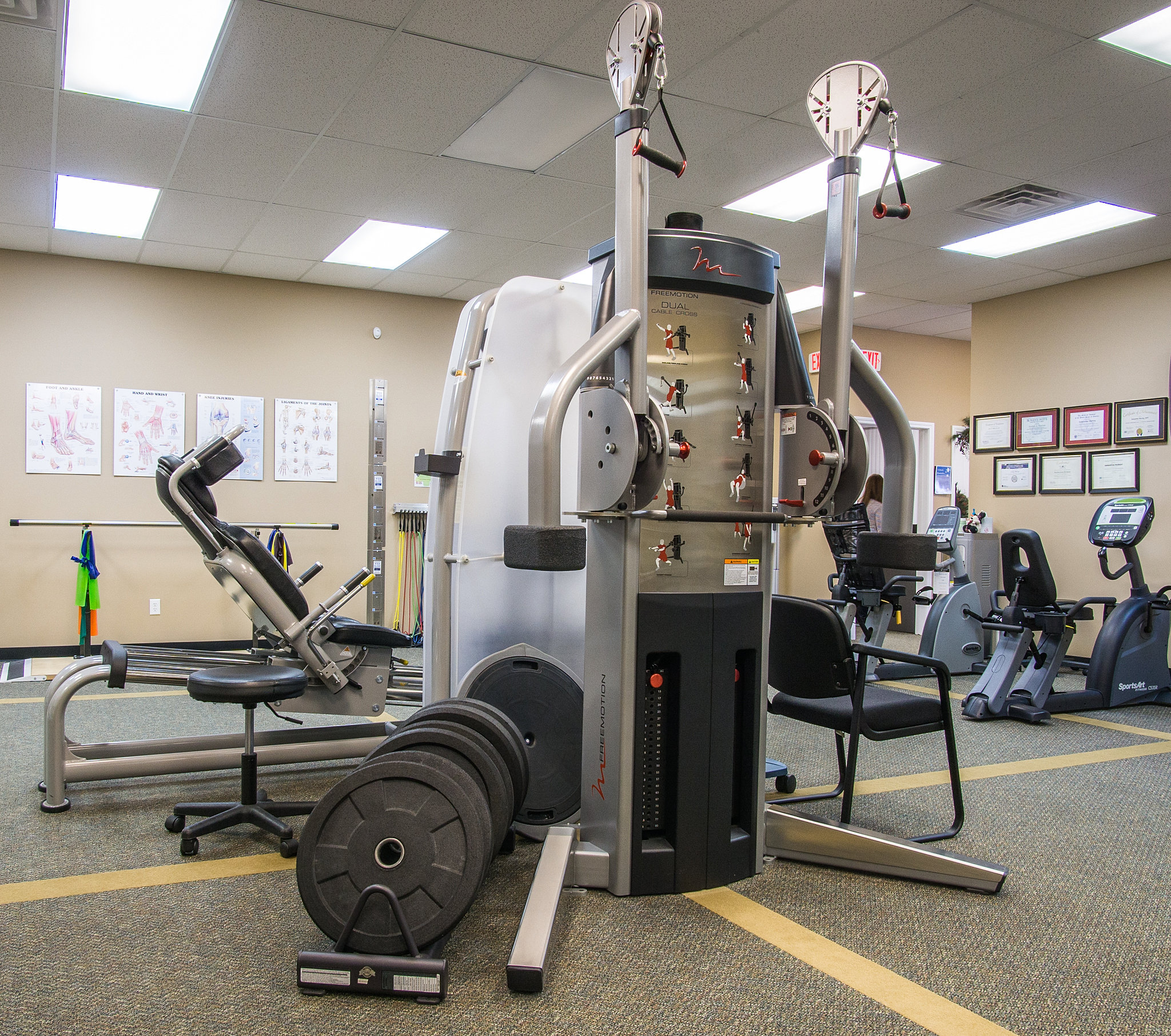 Equipment exercise physical therapy -  Brostrom Pt Equipement Brostrom Patient Room Exercise Equipment