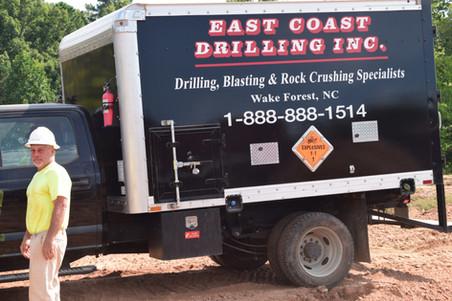 Rock Blasting Truck