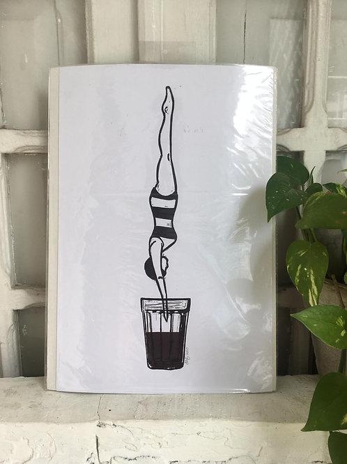 Print Mergulho no Café
