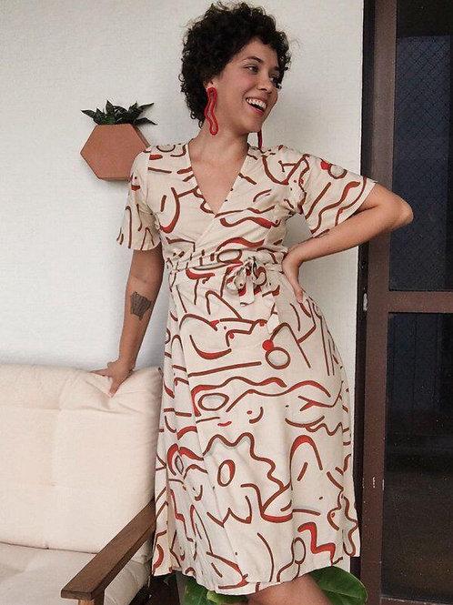 Vestido Natália Mulheres - VIVAYÊ
