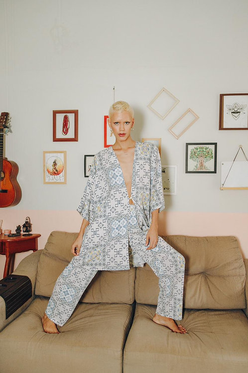 Kimono azulejo - OUSH