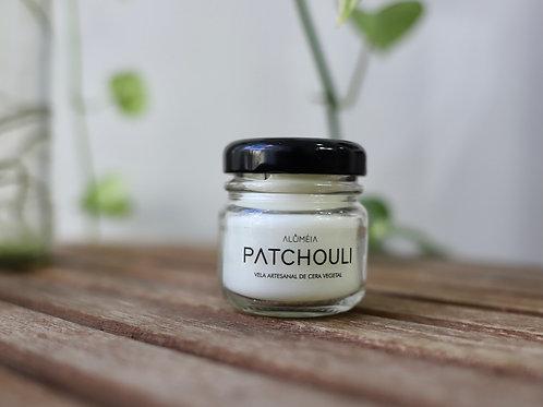 Mini Vela Patchouli - Aluméia Velas