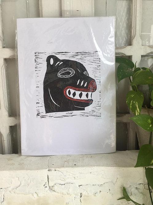 Print La Ursa