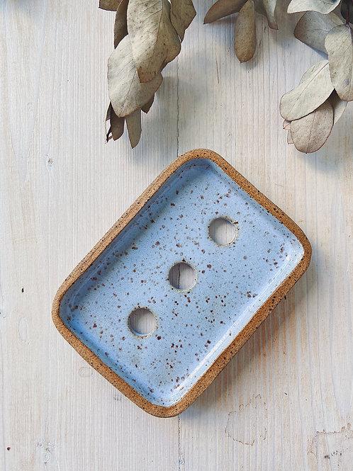 Saboneteira Azul - BAUME NATURAL
