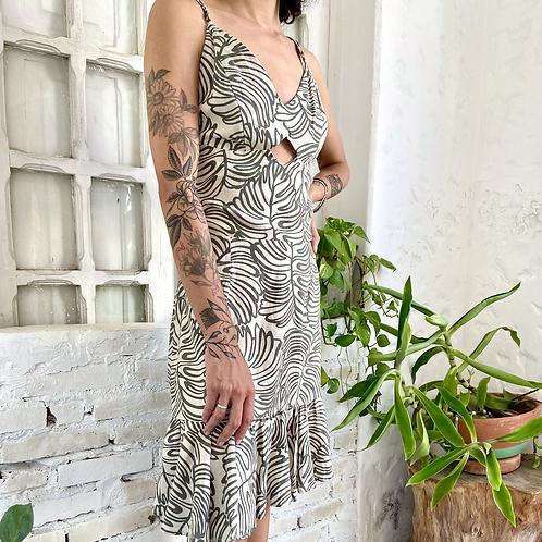 Vestido estampado - CAROLINA ESCOBAR