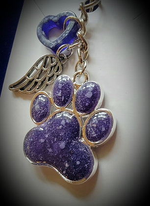 Memorial Charms - Ashes, Paw Prints and Fur/Hair