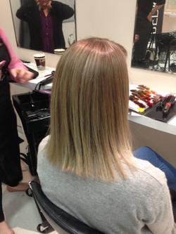 Blonde Glam foil package