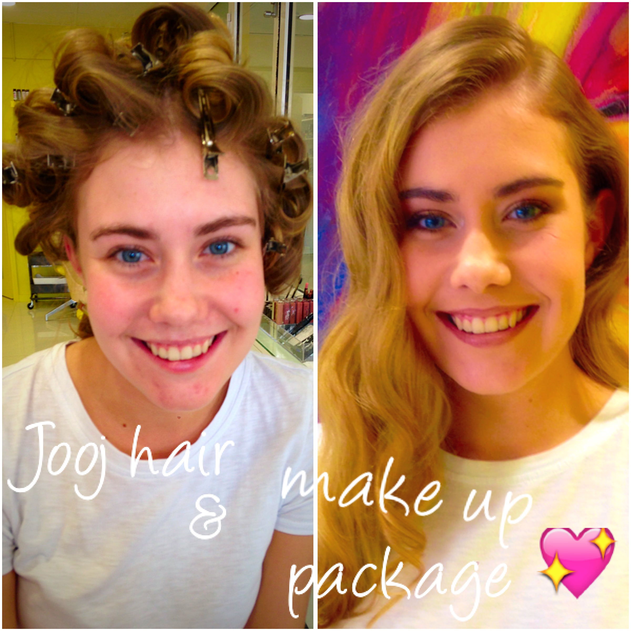 Hair and make up package