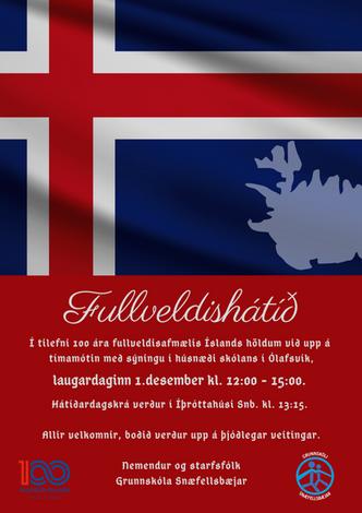 Fullveldishátíð 1. des.