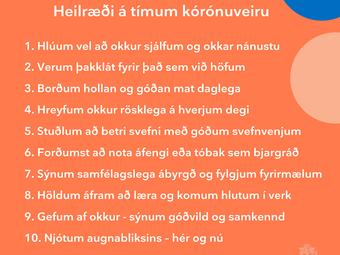 Sýnum samfélagslega ábyrgð og fylgjum fyrirmælum