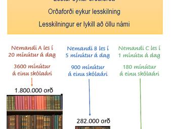 Hvers vegna er mikilvægt að lesa daglega?