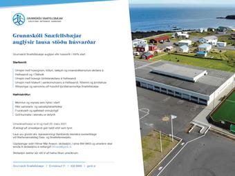 GSnb auglýsir eftir húsverði