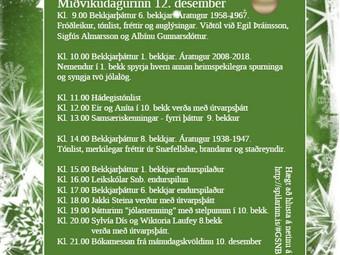 Miðvikudagur 12. desember
