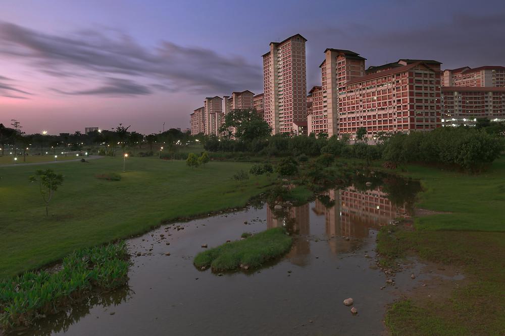 Kallang River @ Bishan-Ang Mo Kio Park, Singapore.