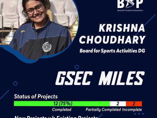BSA DGSec Miles