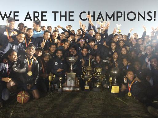 IT'S COMING HOME!: Inter IIT Sports Meet 2018