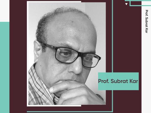 Prof Subrat Kar, EE Department