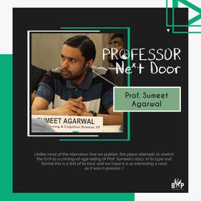 Prof. Sumeet Agarwal, Electrical Engineering