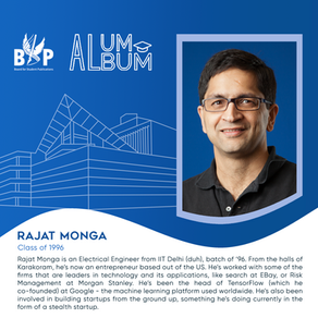 Rajat Monga, Class of 1996