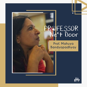 Prof. Mahuya Bandyopadhyay, HUSS