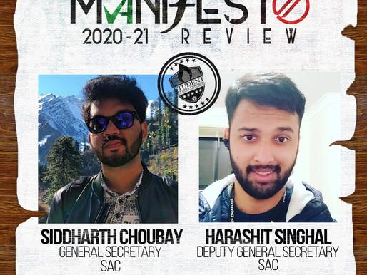 SAC GSec Siddharth Choubay