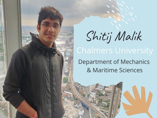 Chalmers University - Shitij Malik, ME2
