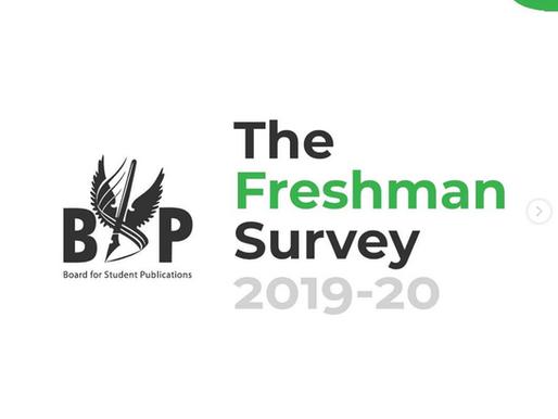 The Freshman Survey, 2019