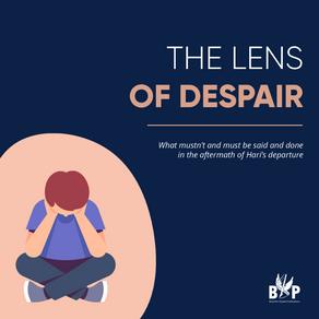 The lens of despair