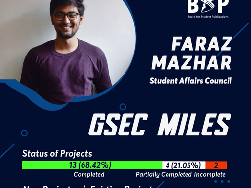 SAC GSec Miles