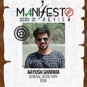 BSW GSec Aayush Sharma