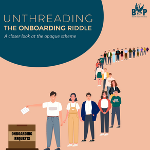 Unthreading the Onboarding Riddle: A closer look at the opaque scheme