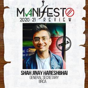 BRCA GSec Jinay Shah