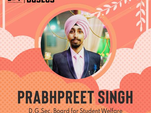 BSW DGSec - Prabhpreet Singh