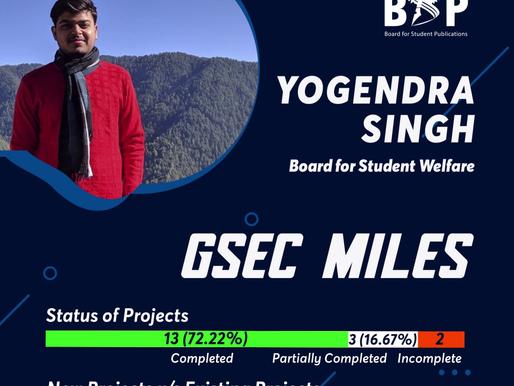 BSW GSec Miles