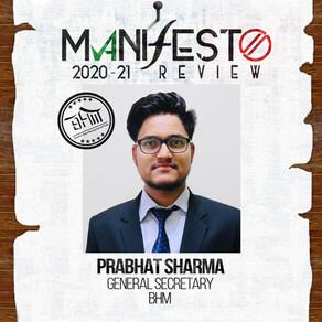BHM GSec Prabhat Sharma