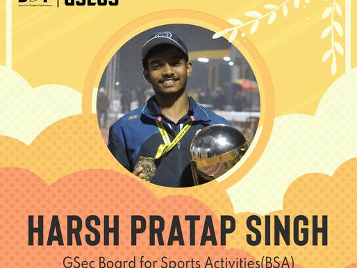 BSA GSec - Harsh Pratap Singh