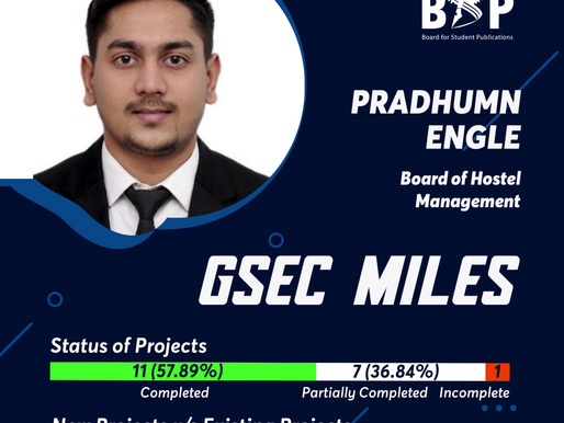 BHM GSec Miles