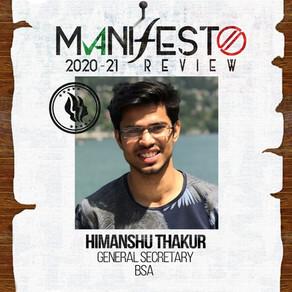 BSA GSec Himanshu Thakur
