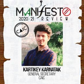 CAIC GSec Kartikey Karnatak