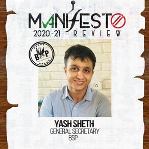 BSP GSec Yash Sheth