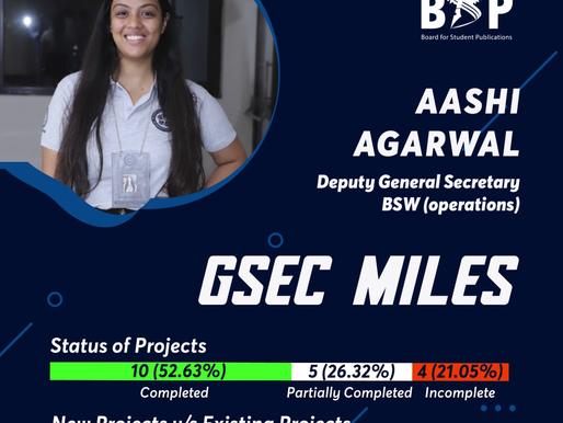 BSW Operations DGSec Miles