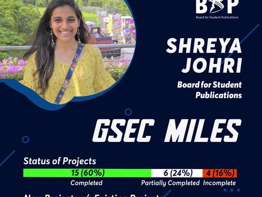 BSP GSec Miles