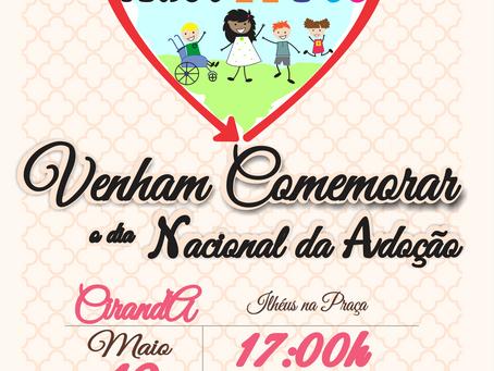 Convite Especial de Comemoração Antecipada do dia Nacional da Adoção!