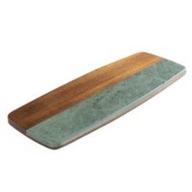 Wood and Slate Cheese Board