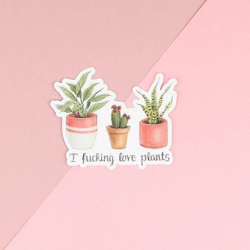 Plant Love Sticker