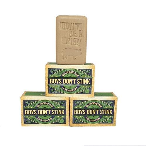 BOYS DON'T STINK XXL SOAP BAR