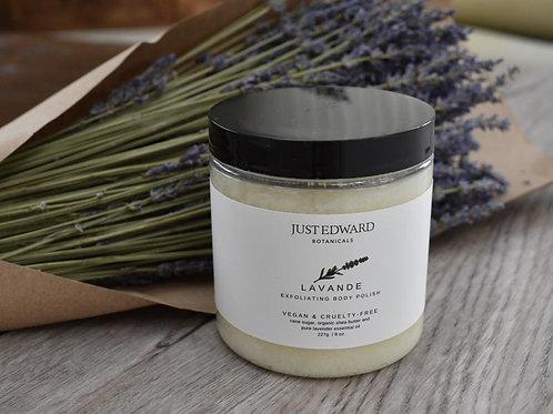 Just Edward Botanicals Lavende Exfoliant