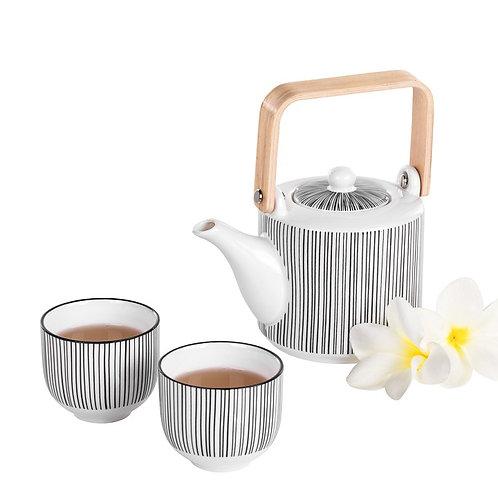 Kiri 3 Piece Tea Set