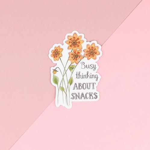 Snack Sticker